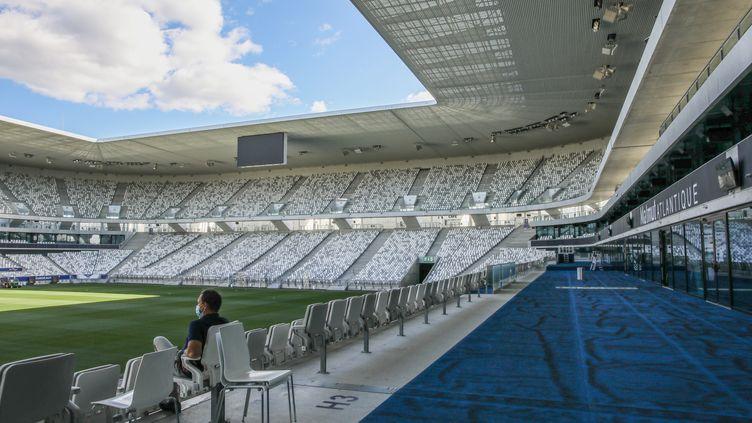 Le Matmut Atlantique sera vide lors des prochaines rencontres des Girondins (STEPHANE LARTIGUE / MAXPPP)