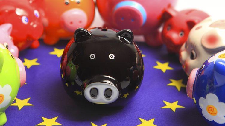 Le président de la BCE prévoit la reprise de la croissance dans la zone europour fin 2013. (PHILIPPE TURPIN / PHOTONONSTOP / AFP)