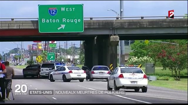 États-Unis : trois policiers morts dans une fusillade à Bâton-Rouge