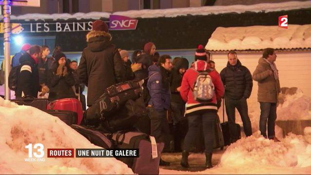Savoie : des automobilistes bloqués toute la nuit