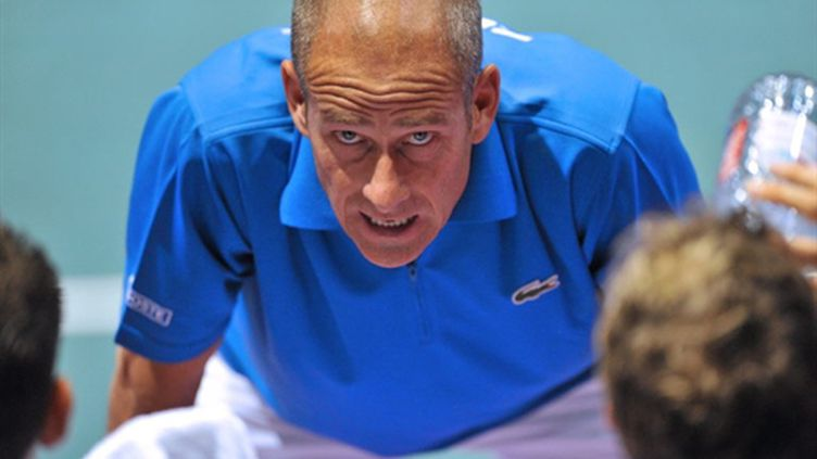 Guy Forget (THIERRY ZOCCOLAN / AFP)