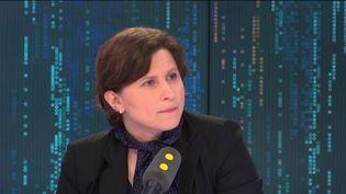 Roxana Maracineanu, ministre des Sports. (FRANCEINFO / RADIOFRANCE)