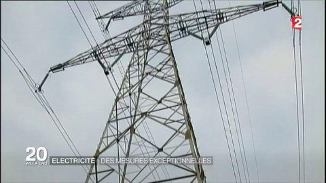 Électricité : des mesures exceptionnelles