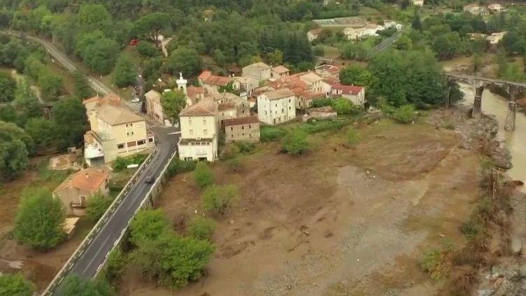 Intempéries : le Gard et l'Hérault se réveillent dévastés (FRANCE 2)