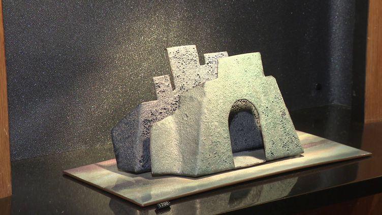 Temple des arts du feu, la célèbre galerie Christel de Limoges ouverte en 1957, ferme définitevement ses portes ce 31 décembre 2020. (Nassuf Djailani / France 3)