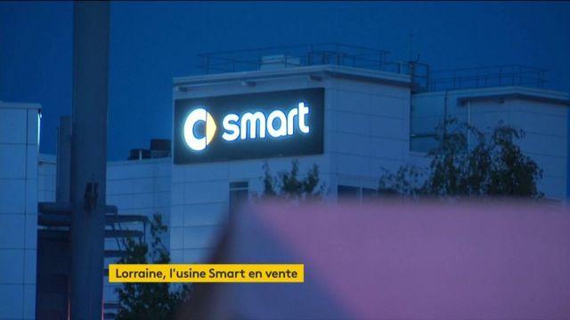 Lorraine : l'usine Smart d'Hambach mise en vente