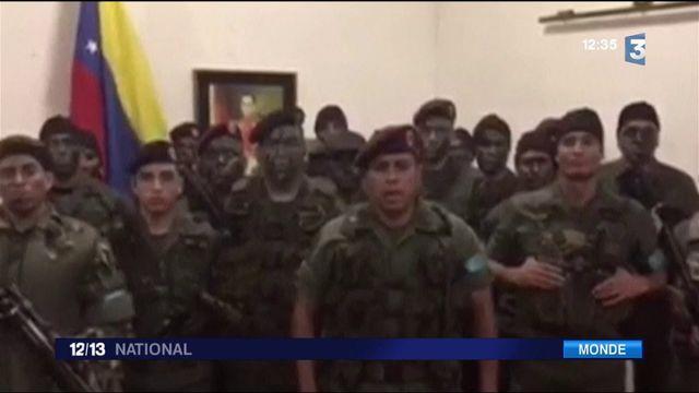 Venezuela : l'armée cible les assaillants