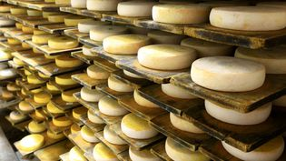 Des reblonchons chez un fabricant du Grand Bornand, en Haute-Savoie, le 29 janvier 2015. (MOIRENC CAMILLE / HEMIS.FR / AFP)