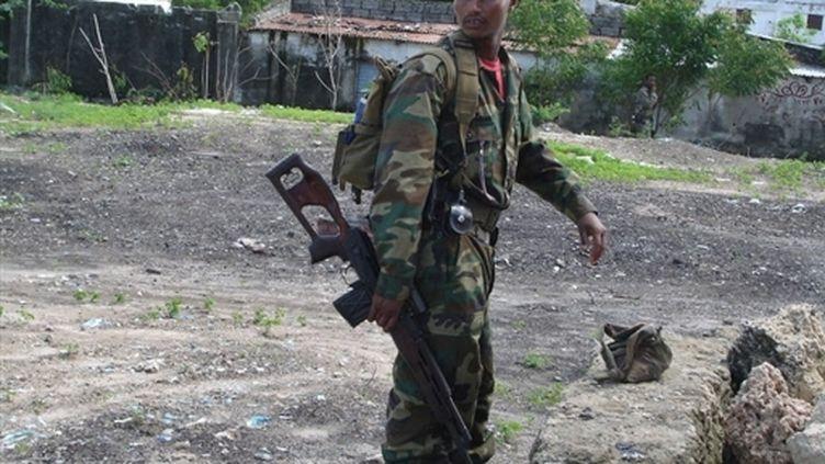 Soldat éthiopien à Mogadiscio (archives) (© AFP - Stringer)