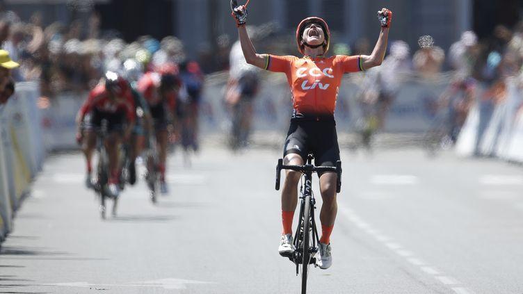 Marianne Vos sur la Course by Le Tour (GUILLAUME HORCAJUELO / EPA)