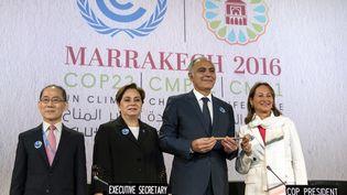 Le Maroc accueille du 7 au 18novembre à Marrakech laCOP 22. (FADEL SENNA / AFP)