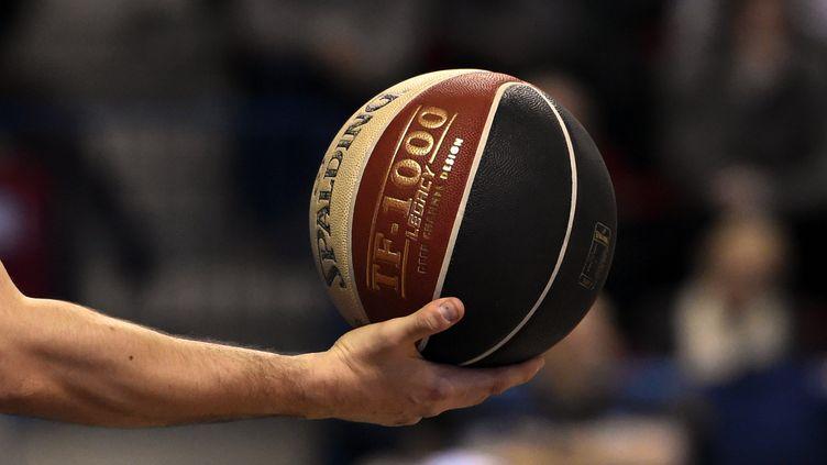 Un ballon de Pro A (ALEXANDRE MARCHI / MAXPPP)