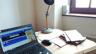 Un bureau à domicile (illustration). (CLÉMENCE FULLEDA / FRANCE BLEU OCCITANIE / RADIO FRANCE)
