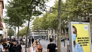 La Canebière à Marseille, le 24 septembre 2020. (NOÉMIE BONNIN / FRANCE-INFO)