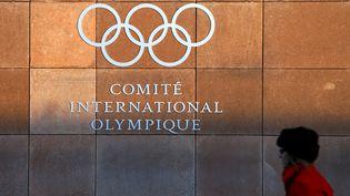 Le siège du Comité international olympique à Lausanne (Suisse), le 5 décembre 2017. (DENIS BALIBOUSE / REUTERS)