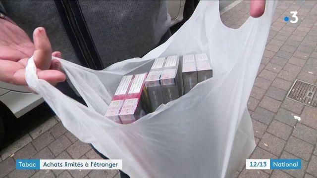 Tabac : achats limités à l'étranger