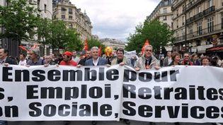 Le défilé du 1er mai 2010 (AFP / Miguel Medina)