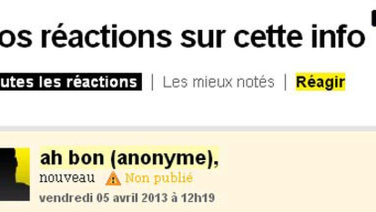 (capture d'écran franceinfo.fr Radio France)