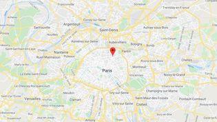 Le 19e arrondissemnt de Paris. (GOOGLE MAPS)