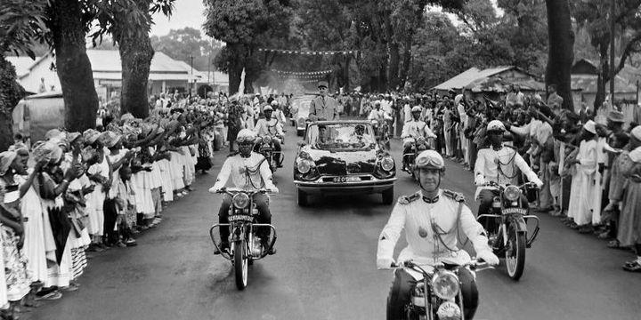 De Gaulle à Conakryle 27 août 1958 (AFP)