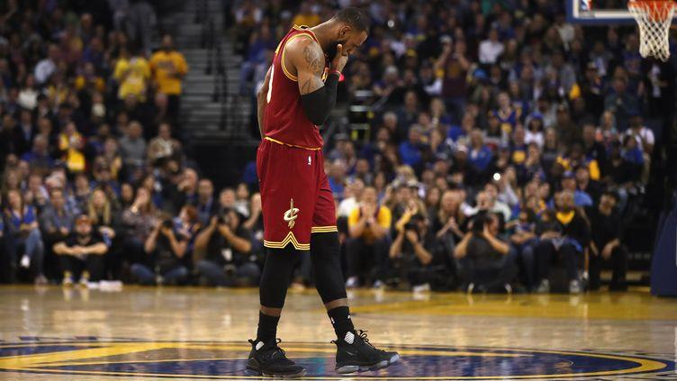 Le joueur américain LeBron James (EZRA SHAW / GETTY IMAGES NORTH AMERICA)