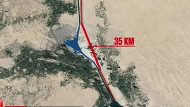 Canal de Suez : des profits pharaoniques en perspective
