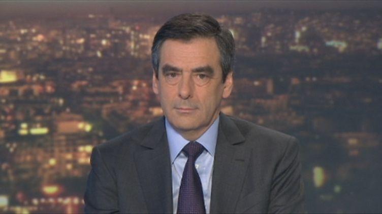 François Fillon au 20 h du 6/12/2011 (FranceTV)