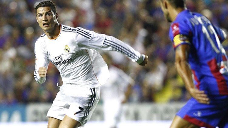 Cristiano Ronaldo a inscrit un but important pour les Merengue dans le temps additionnel. (BIEL ALINO / MAXPPP)