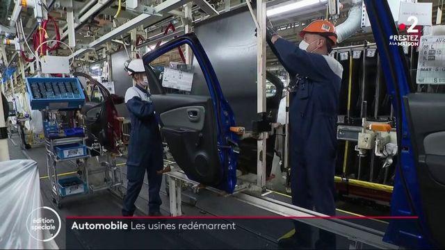 Confinement : Toyota rouvre partiellement son site d'Onnaing dans le Nord