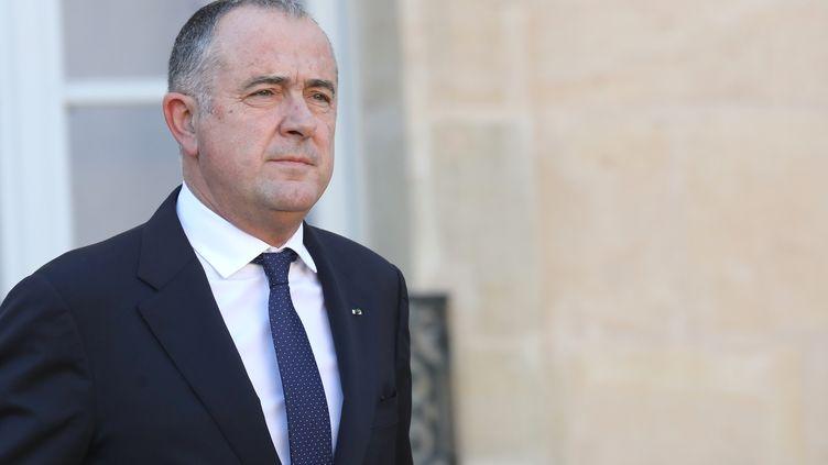Le ministre de l'Agriculture, Didier Guillaume, le 14 novembre 2018 à Paris. (LUDOVIC MARIN / AFP)