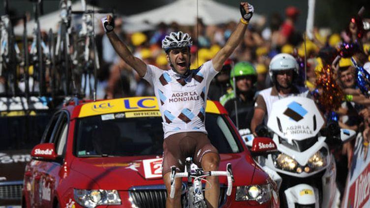 Christophe Riblon (AG2R-La Mondiale) dans les échappées