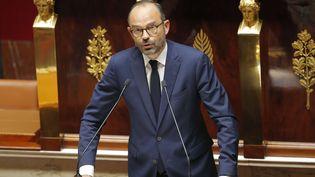 Edouard Philippe le 4 juillet2017 devant les députés (MICHEL EULER / AP)