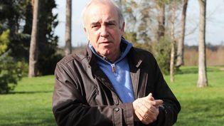 Alain Baraton, jardinier en chef du Château de Versailles et écrivain. Heureux de retrouver jardins et bancs publics. (LUDOVIC MARIN / AFP)