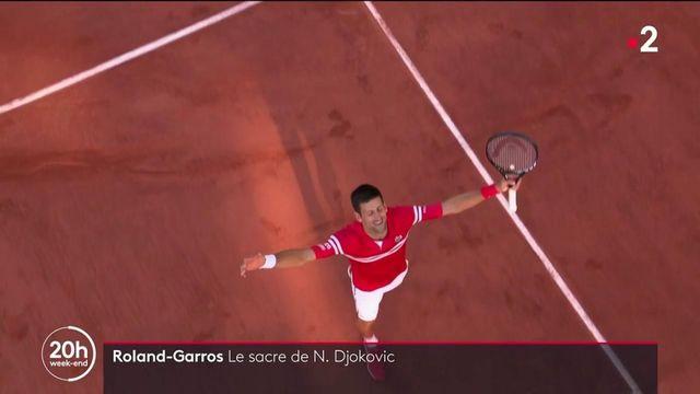 Roland-Garros : Novak Djokovic sacré champion face à Stéfanos Tsitsipás