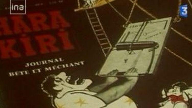 """""""Le pire de Hara Kiri"""", un livre rassemble le meilleur du journal satirique  (Culturebox)"""