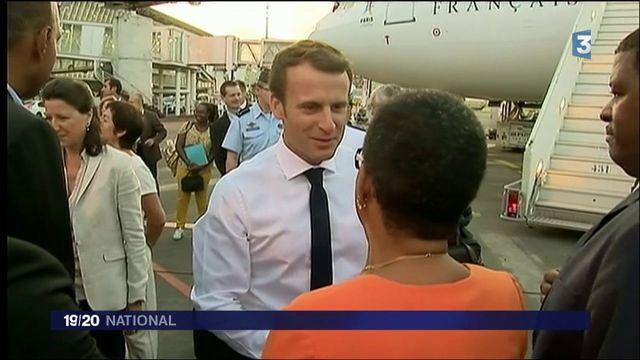 """Saint-Martin : """"Soyons dignes"""", a déclaré Emmanuel Macron"""