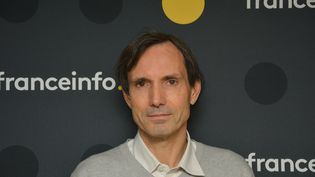 Jacques Monin, chef de la cellule d'investigation de Radio France. (JEAN-CHRISTOPHE BOURDILLAT / RADIO FRANCE)