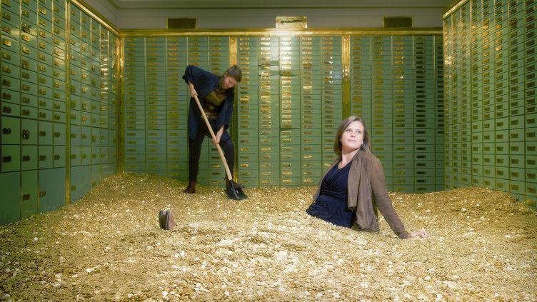 Dans cette pièce se trouvent 8 millions de pièces de cinq centimes, pour une valeur de 325 000 euros. (JAMES EDITION)