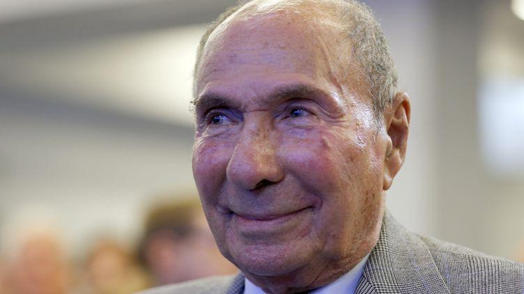 Serge Dassault, le 17 octobre 2013 à Paris. (FRANCOIS GUILLOT / AFP)