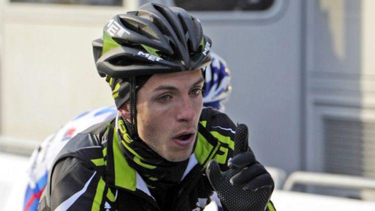 Jonathan Tiernan-Locke sous le maillot d'Endura Racing (BORIS HORVAT / AFP)