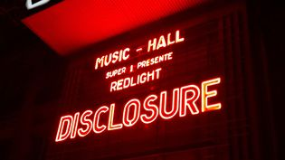 Disclosure à l'affiche à l'Olympia 20 mars 2014.  (Laure Narlian / Culturebox)