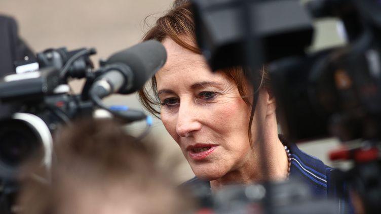 Ségolène Royal, ambassadrice des pôles. (PIERRE TEYSSOT / MAXPPP)