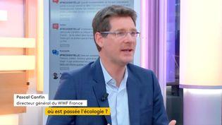 """Invité de Jean-Paul Chapel dans """":L'éco"""" mercredi 3 mai, Pascal Canfin, directeur général de WWF, propose un changement de modèle agricole, à l'aube de la réforme de la Politique Agricole Commune. Mais où est passée l'écologie? (FRANCEINFO)"""