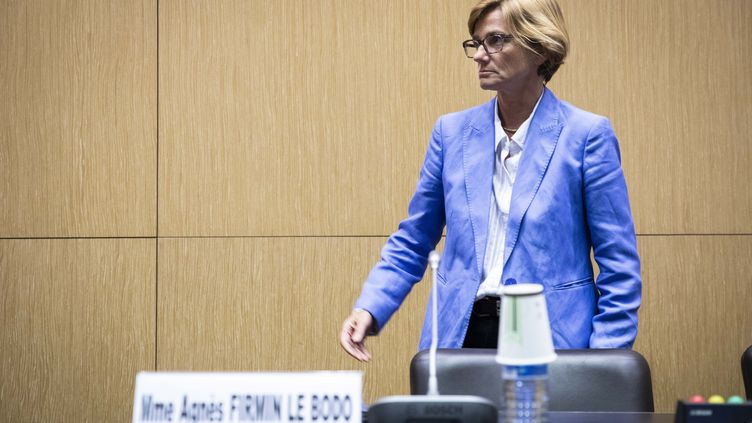 La députée Agnès Firmin Le Bodo lors des auditions sur leprojet de loibioéthique, le 9 septembre 2019. (ALEXIS SCIARD / MAXPPP)