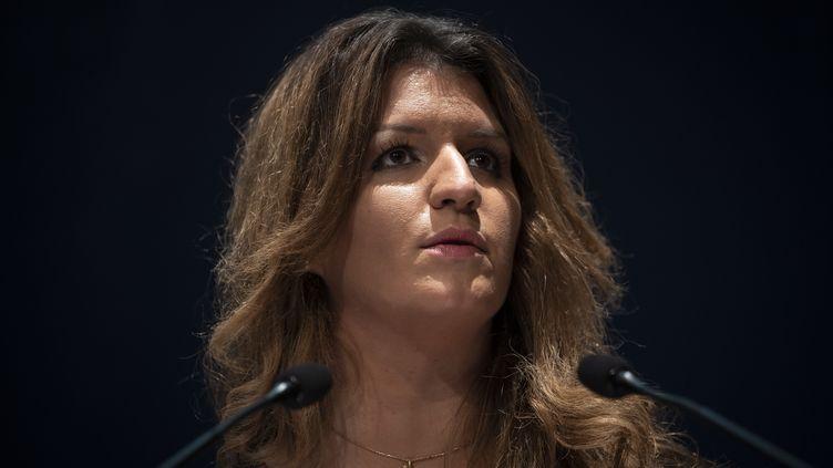 Laministre déléguée à la Citoyenneté, Marlène Schiappa, en octobre 2020. (LIONEL BONAVENTURE / AFP)
