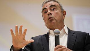 L'ancien PDG de Renault-Nissan, Carlos Ghosn, le 29 septembre 2020. (ANWAR AMRO / AFP)