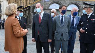 Le Premier ministre, Jean Castex, en déplacemement à Lille (Nord), le 3 août 2020. (DENIS CHARLET / AFP)