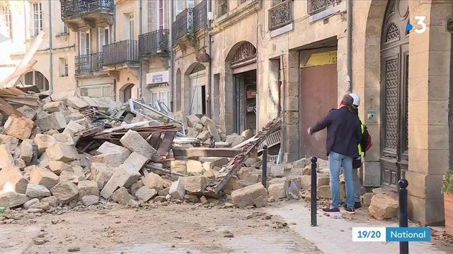 Bordeaux : sidération après l'effondrement de deux immeubles en plein centre-ville