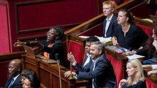 Les députés de la France Insoumise à l'Assemblée nationale. Photo d'illustration. (CHRISTOPHE MORIN / MAXPPP)