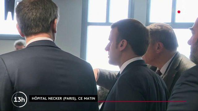 Covid-19  : Emmanuel Macron sur le terrain malgré l'épidémie